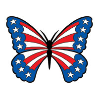 PatrioticButterfly-tattoo